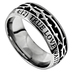 Spirit & Truth, Crown of Thorns, True Love Waits, 1 Timothy 4:12, Men's Ring, Stainless Steel