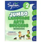 Sylvan Learning, 2nd Grade Jumbo Language Arts Success Workbook, Paperback, 310 Pages, Grade 2
