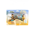 Cactus Game Design Inc., David and Goliath Playset, Ages 3 Years and Older, 3 Inches, 3 Pieces