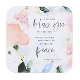 Legacy Publishing Group, Numbers 6:24, 26 The Lord Bless You Coaster, 3 3/4 inches