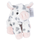 Aurora, Mini Flopsies, Spotted Piglet Stuffed Animal, 8 inches