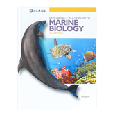 Apologia, Exploring Creation With Marine Biology Textbook, 2nd Edition, Hardcover, Grade 12