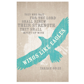 Salt & Light, They Who Wait For The Lord Church Bulletins, 8 1/2 x 11 inches Flat, 100 Count