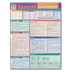 BarCharts, Quick Study Spanish Grammar Study Guide, 8.5 x 11 Inches, 6 pages, Grades 5 and up
