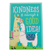 Renewing Minds, Kindness Is Always A Good Idea Motivational Poster, 13.25 x 19 Inches, 1 Piece