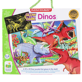 The Learning Journey, Glow In The Dark Dinosaur Floor Puzzle, 100 Pieces, 3 x 2 Feet