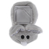 Stephan Baby, Ouch Mouse Comfort Toy, Polyester, Gray, 3 1/2 x 2 inches