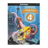 BJU Press, Math 4 Student Activities, 4th Edition, Paperback, Grade 4
