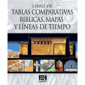Libro de Tablas Comparativas Biblicas, Mapas y Lineas de Tiempo, by B&H Espanol, Spiral Bound