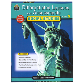 Teacher Created Resources, Differentiated Lessons and Assessments Social Studies, Grade 5