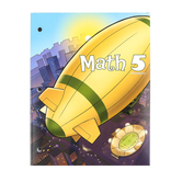 BJU Press, Math 5 Student Worktext, 3rd Ed, Copyright Update, Paperback, Grade 5