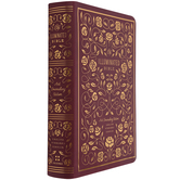 ESV Illuminated Journaling Bible, Hardcover, Burgundy