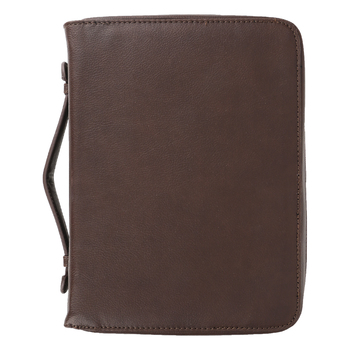 Holman, Organizer Bible Cover, Imitation Leather, Brown, Multiple Sizes Available