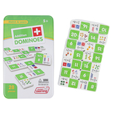 Junior Learning, Match & Learn Addition Dominoes, 28 Pieces, Ages 7 & Older