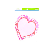 Renewing Minds, Heart Shaped Notepad, 6.25 x 6.75 inches, 50 Count