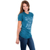 Ruby's Rubbish, Test The Jesus, Women's Short Sleeve T-shirt, Dark Teal Heather, Small