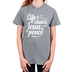 Gardenfire, Romans 5:1 Life is Chaos Jesus is Peace, Women's Short Sleeved T-Shirt, Graphite Heather, Small