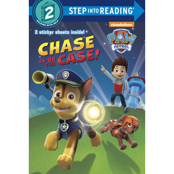 PAW Patrol, Chase Is On The Case, Step Into Reading, Level 2, by Fabrizio Petrossi, Paperback