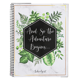 Schoolgirl Style, Simply Boho Teacher Planner Book, 12-Month, Customizable, Spiral, 8.38 x 10.9 Inches