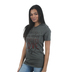 Crazy Cool Threads, Reckless Love, Women's Short Sleeve T-Shirt, Gray Heather, Small