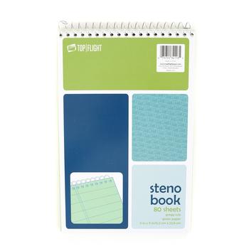 Top Flight, Steno Book, 80  Sheets, 6 x 9