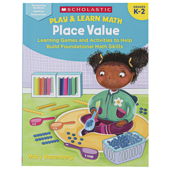 Scholastic, Play & Learn Math: Place Value Workbook, 64 Pages, Grades K-2