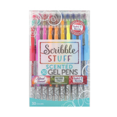 Scribble Stuff, Scented Gel Pens, 1 Each of 30 Colors