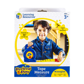 Learning Resources, Pretend & Play Tape Measure, Plastic, 3 Feet