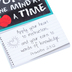 Divinity Boutique, Teachers Thought Of The Week Magnetic Pad, 52 Pages, 3 1/2 x 6 1/8 inches