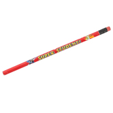 Superheroes Collection, Super Student Pencil with Eraser, 7.38 Inches, Red, 1 Each