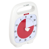 Time Timer, Time Timer Plus 60 Minutes, 5.50 x 7 Inches, 1 Each