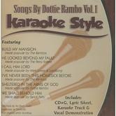 Songs By Dottie Rambo Volume 1, Karaoke Style, As Made Popular by Dottie Rambo, CD+G