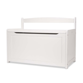 Melissa & Doug, Toy Chest, Wood, White, 24 x 19 x 33 inches