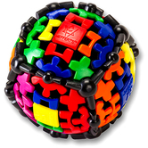 Recent Toys, Gear Ball Brainteaser Puzzle, Multi-Colored, Ages 9 and Older, Single Player