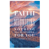 Salt & Light, Faith as Small as a Mustard Seed Church Bulletins, 8 1/2 x 11 inches Flat, 100 Count