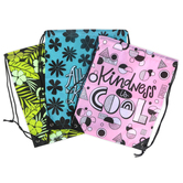 Playside Creations, Drawstring Bags, Assorted Colors, Pack of 3