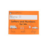 Handwriting Without Tears, Letters and Numbers for Me Student Lesson Book, Paperback, Grade K