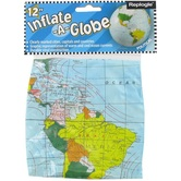 Replogle, Inflate-a-Globe, 12 Inches, Light Blue, Pack of 1