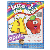 Scholastic, Letter of the Week Activity Book, Reproducible, 96 Pages, Grades PreK-K