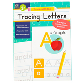 Thinking Kids, Trace With Me Tracing Letters Activity Book, Paperback, Grades PreK-2