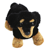 Aurora, Mini Flopsies, Vienna the Dachshund Stuffed Animal, 8 inches