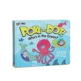 Whos In The Ocean, Poke-a-Dot Book, by Melissa & Doug, Board Book