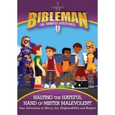 Bibleman: Halting The Hateful Hand of Mister Malevolent, DVD