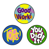 TREND enterprises Inc., Cheer Words superSpots Stickers, Multi-Colored, Pack of 800