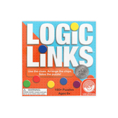Mindware, Logic and Links Puzzle Game, Ages 8 Years and Older, 2 or More Players