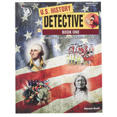 The Critical Thinking Co., U.S. History Detective Book 1, Reproducible, 336 Pages, Grades 8-12