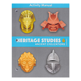 BJU Press, Heritage Studies 6 Student Activity Manual, Ancient Civilizations, 4th Edition, Paperback, Grade 6