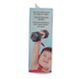 Fred & Friends, Buff Baby Dumbbell Rattle, Plastic, Black, 5 1/2 x 2 inches