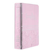 NLT Inspire Coloring & Creative Journaling Bible for Girls, Imitation Leather, Pink