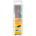 Uchida, LePen Permanent Markers, Fine Point, Assorted Colors, Pack of 4